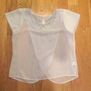 Tops - Peter Pan collar blouse